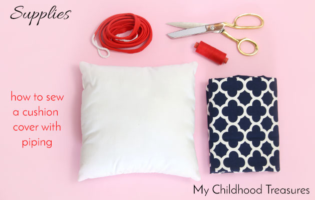 how-to-sew-a-cushion-cover-with-piping-supplies