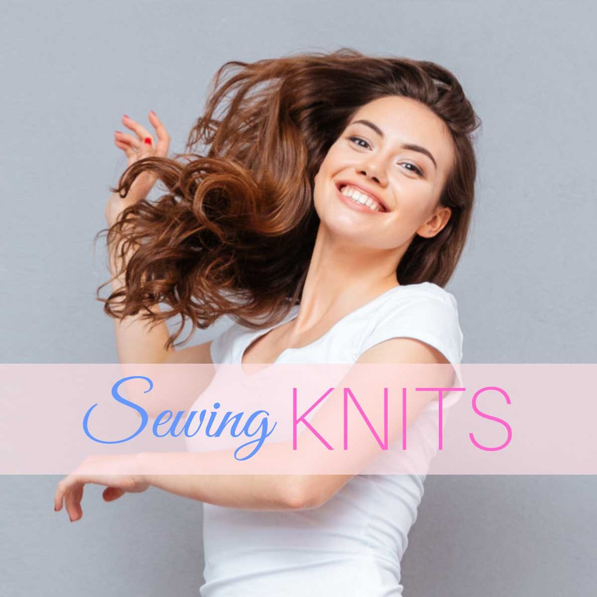 How To Sew Stretch Fabric Sewing Knits Without A Serger