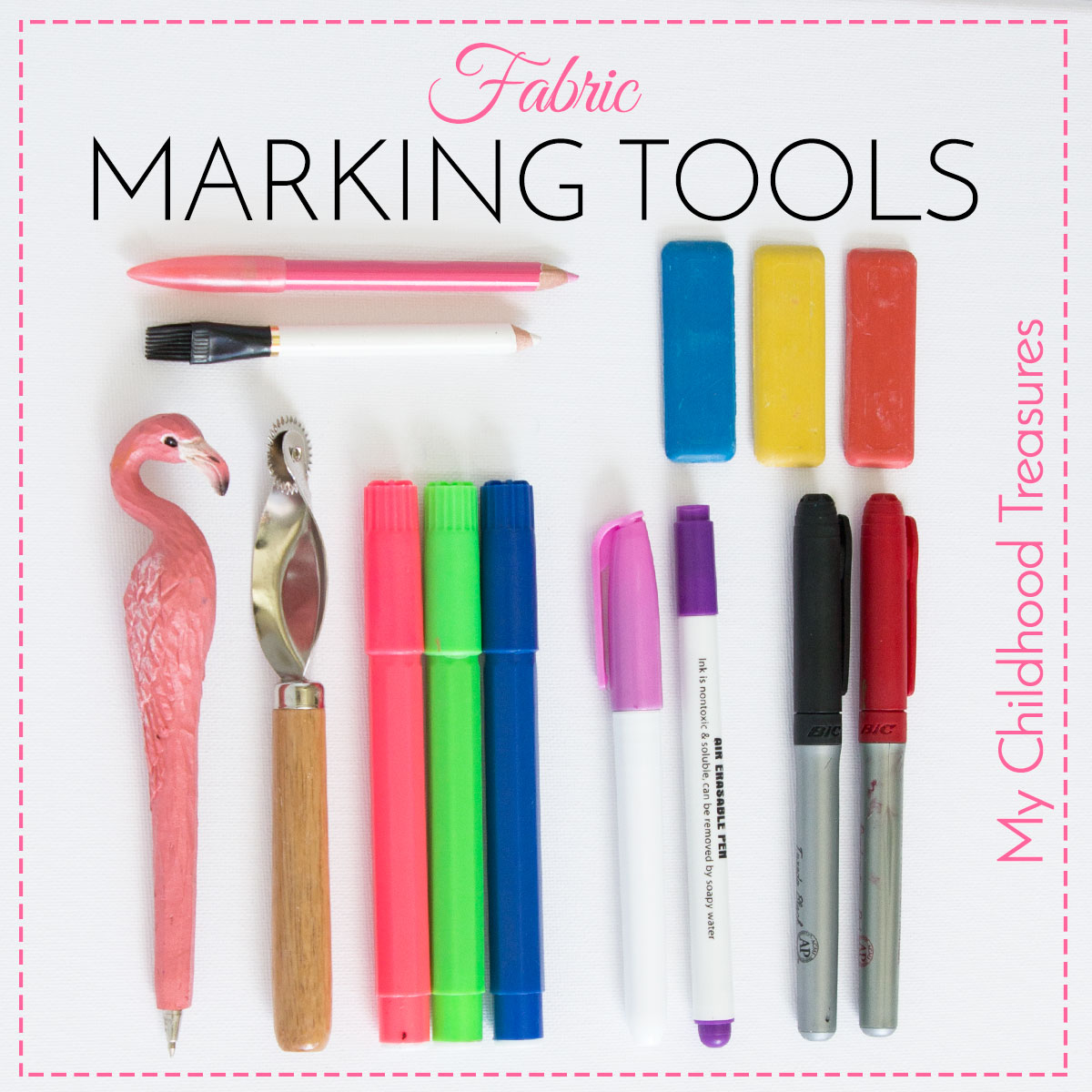Fabric Marking Tools 6 Best Tools For Marking Fabric