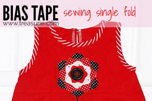 Sewing Bias Tape - Single Fold