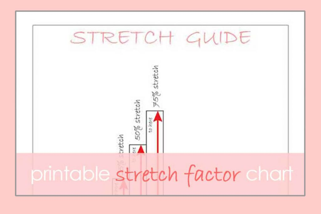 what is stretch factor chart