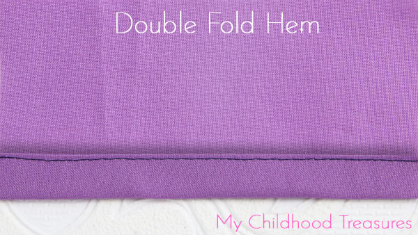 double fold hem