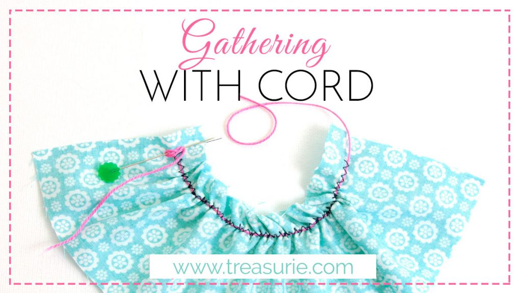 gathering with cord
