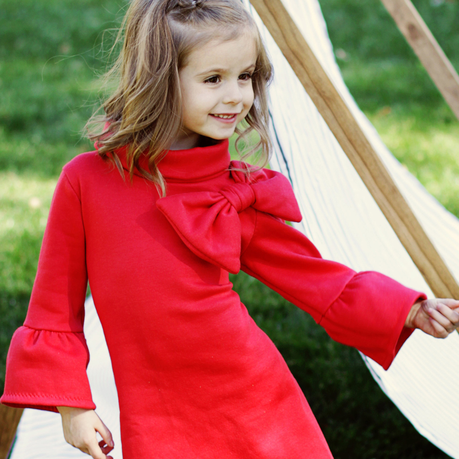 stretch dress sewing pattern