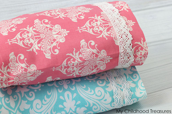 how to make a french seam pillowcase