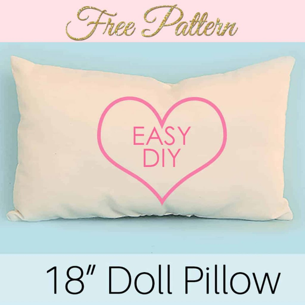 doll pillow pattern