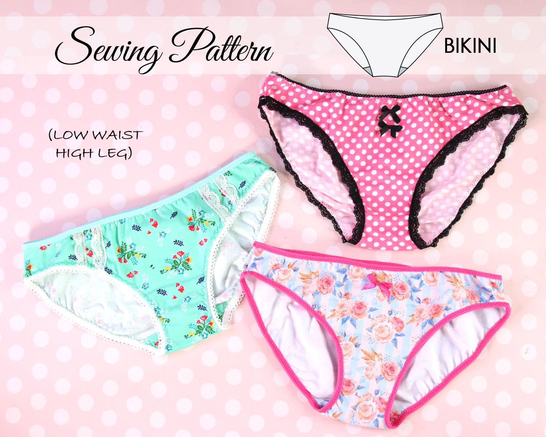 Hipster Panties Pattern