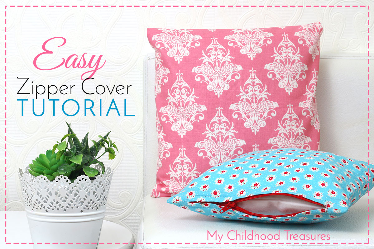 How to Make Zippered Cushion Covers