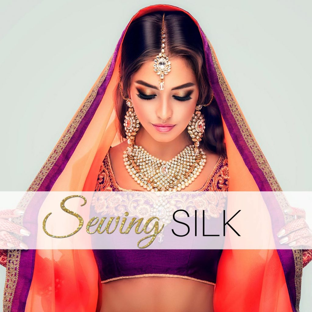 sewing silk, how to sew silk