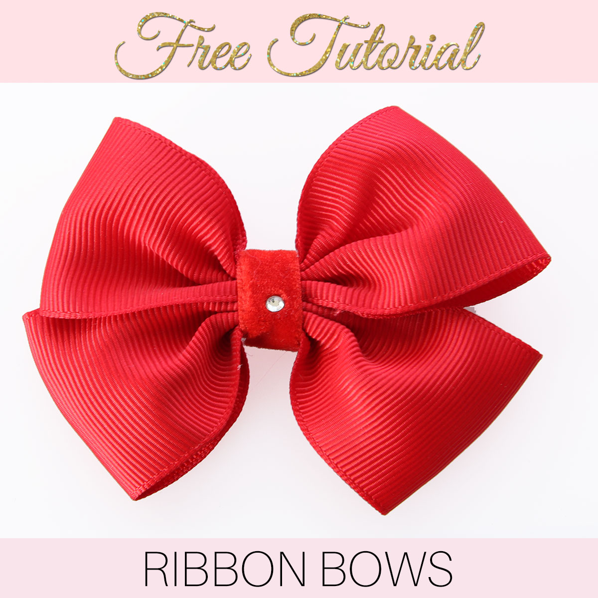 How To Make A Two Story Living Room Cozy: How To Make A Ribbon Bow: EASY Double Bow