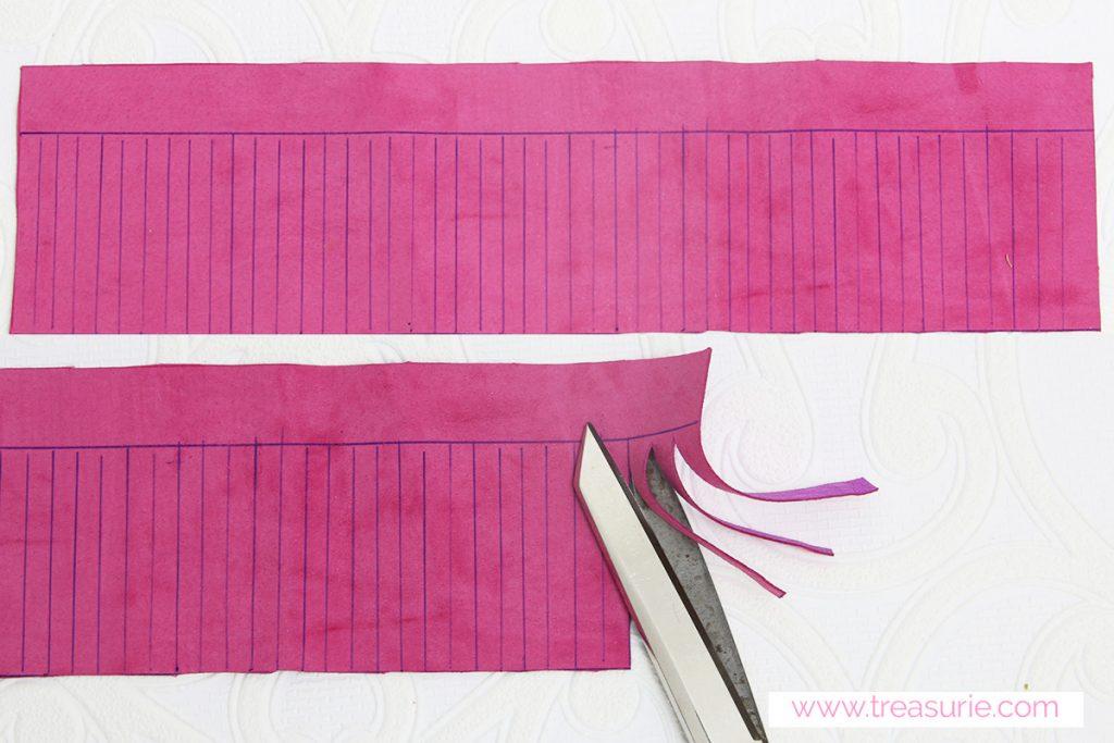 how to make tassels step 1