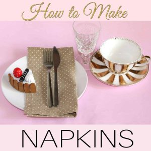 how to make a napkin