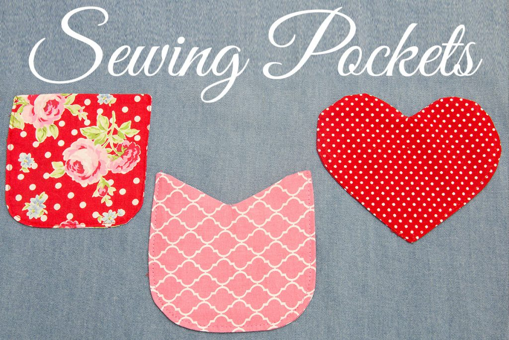 how to sew a pocket, sewing pockets