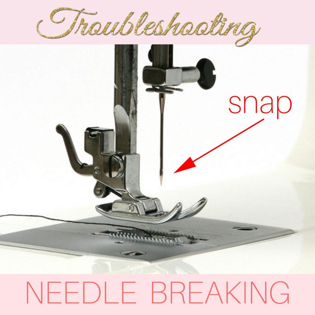 sewing machine needle keeps breaking