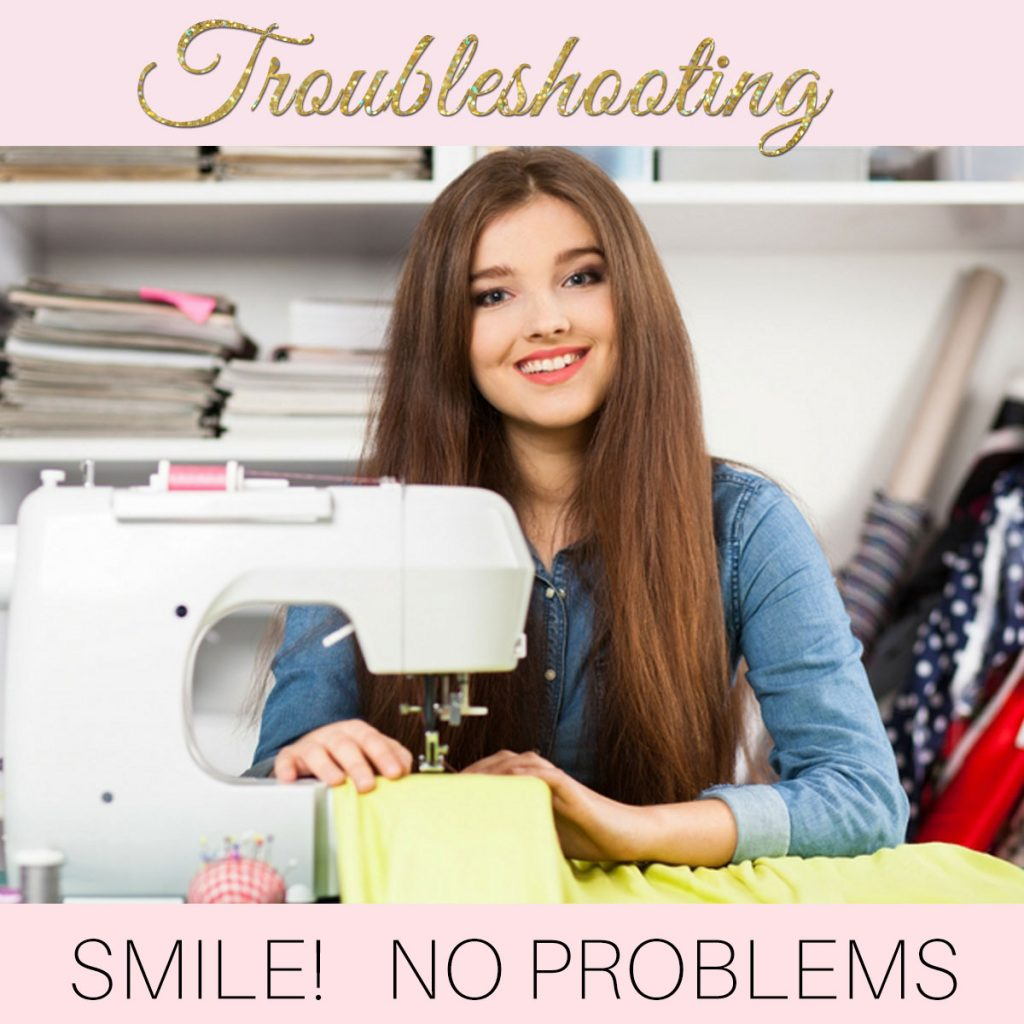 sewing machine troubleshooting