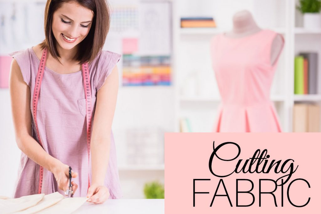 cutting fabric, how to cut fabric
