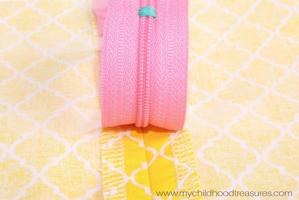 How to Sew a Zipper  - Step 5