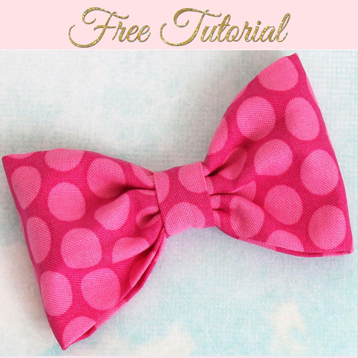 How To Make Fabric Bows Diy Fabric Bows Treasurie