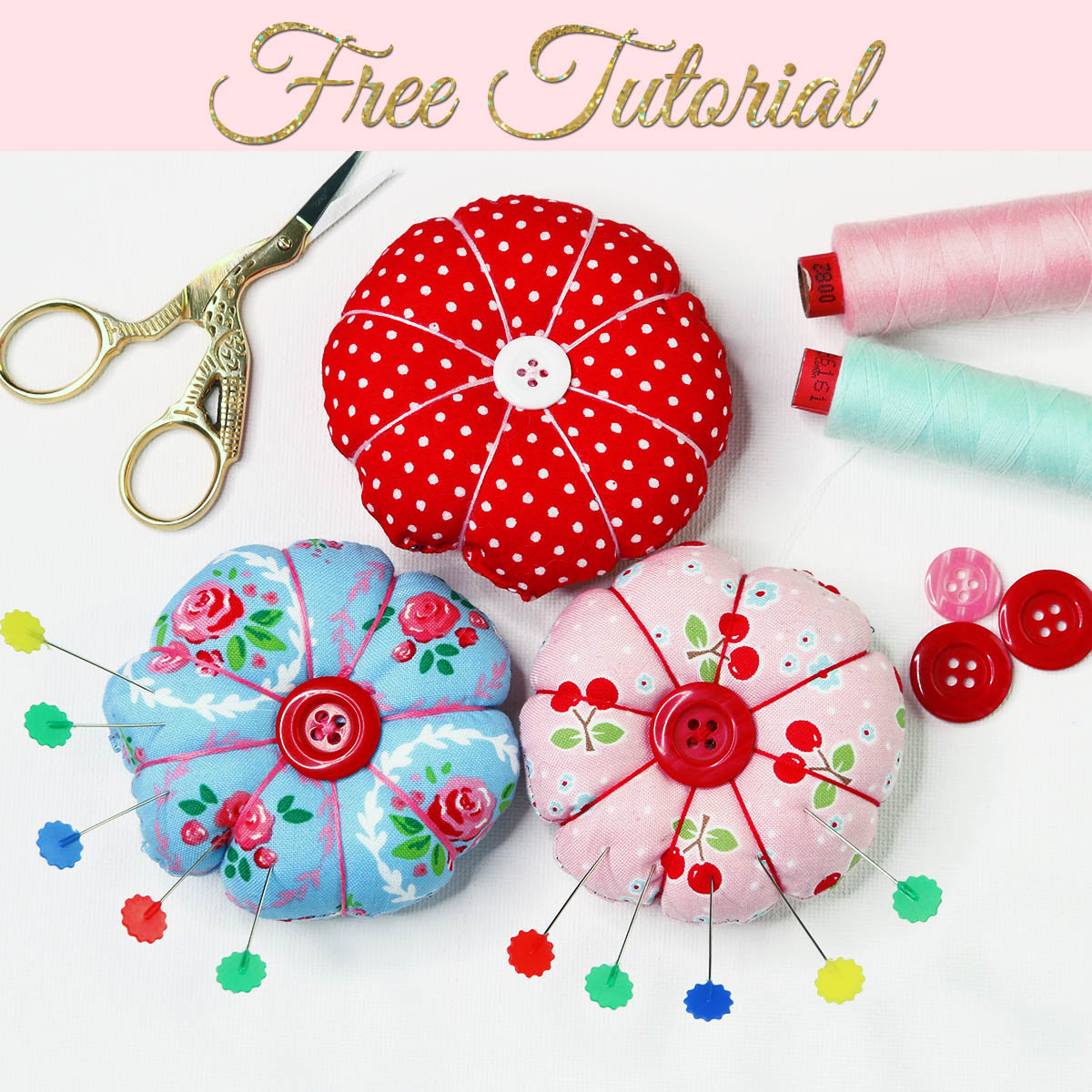 Simple Pin Cushions To Make