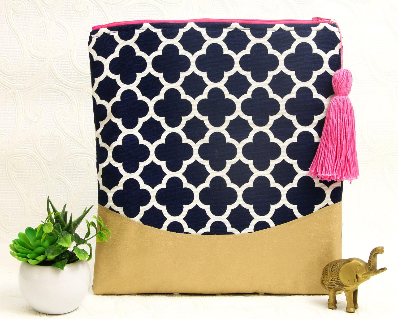 folding clutch pattern