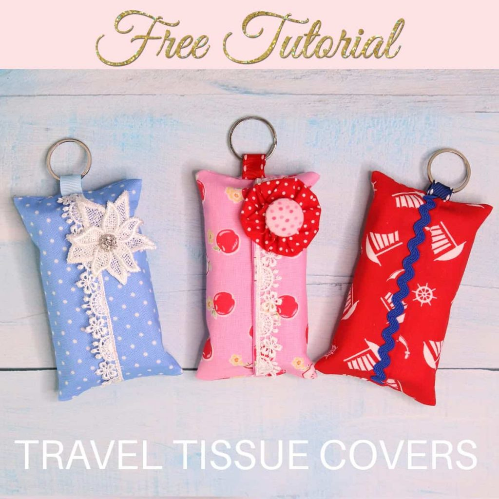 DIY tissue holder cover pattern