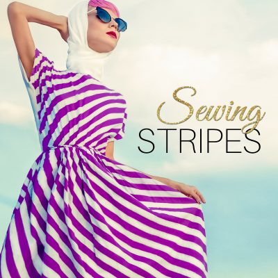 sewing stripes