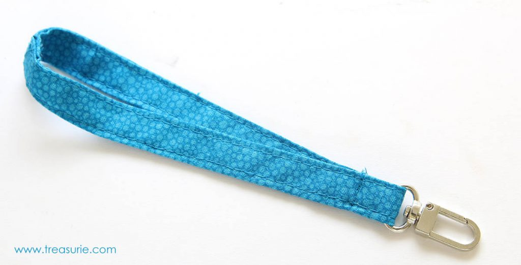 how to sew a wrist strap