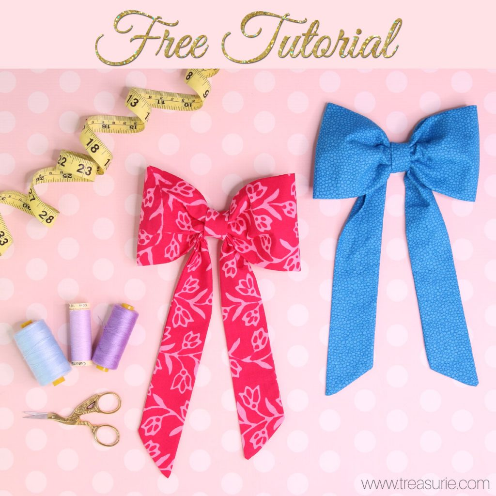 diy fabric bows