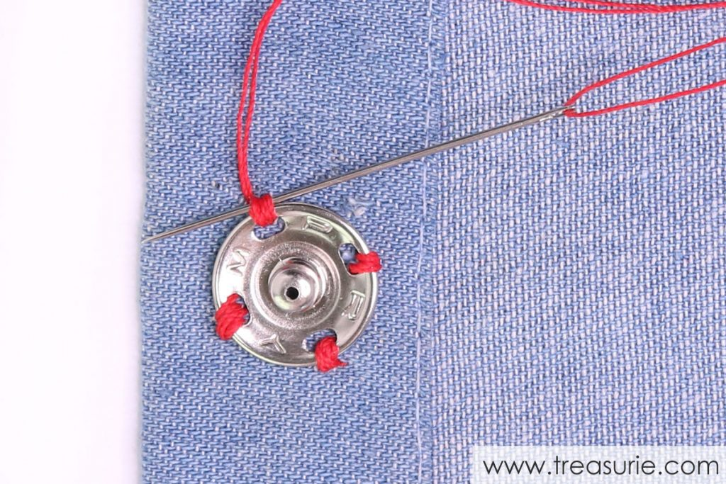 How to Sew On Snaps