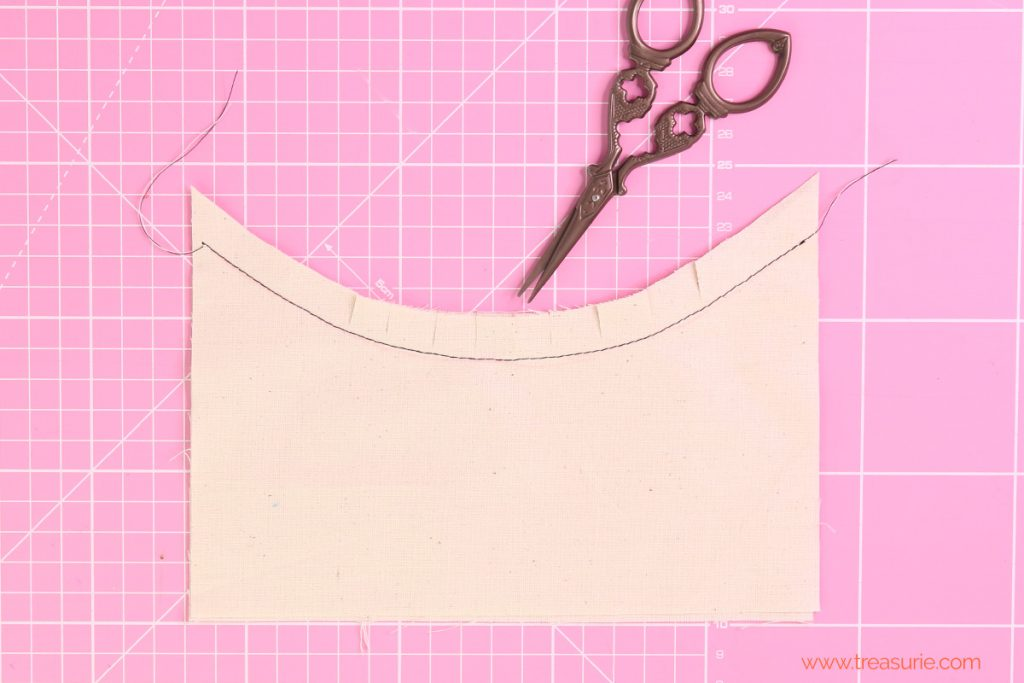 clipping curves,  Sewing Curves - Concave