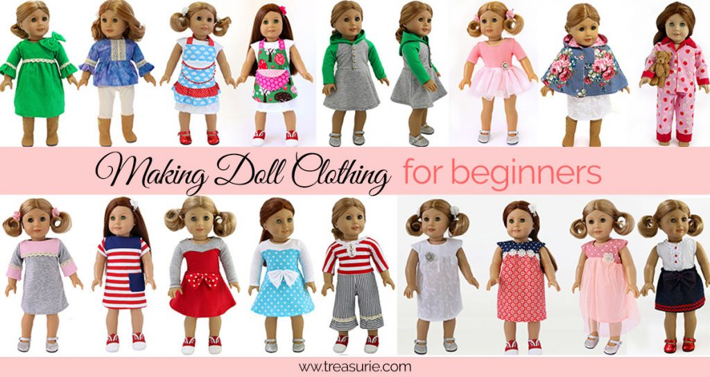 making doll clothing for beginners, sewing doll clothes