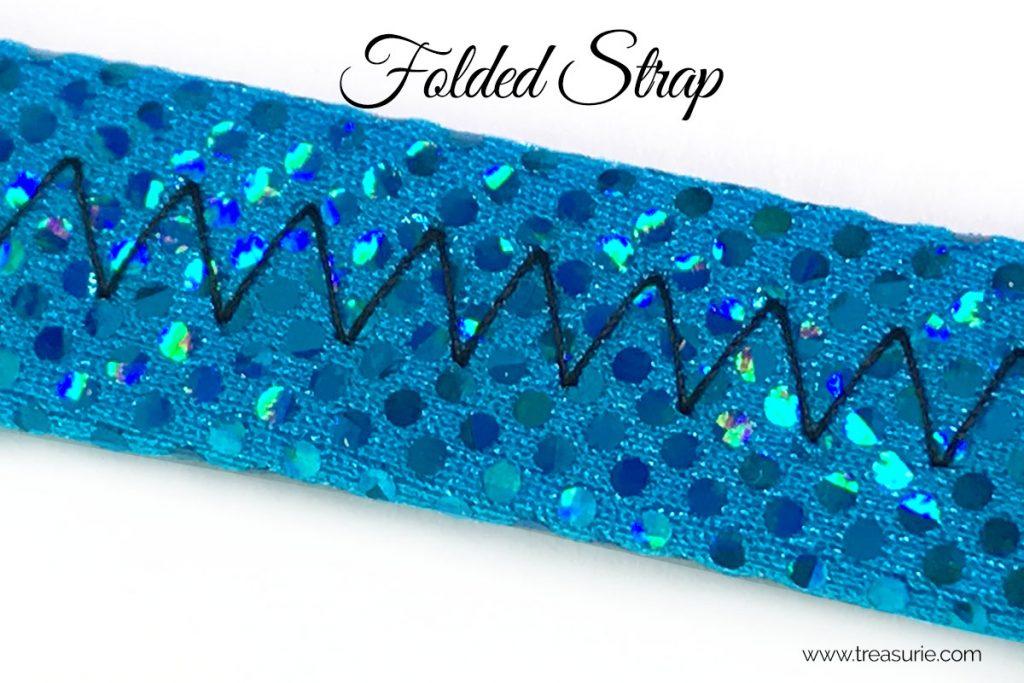 how to sew spandex straps method 1