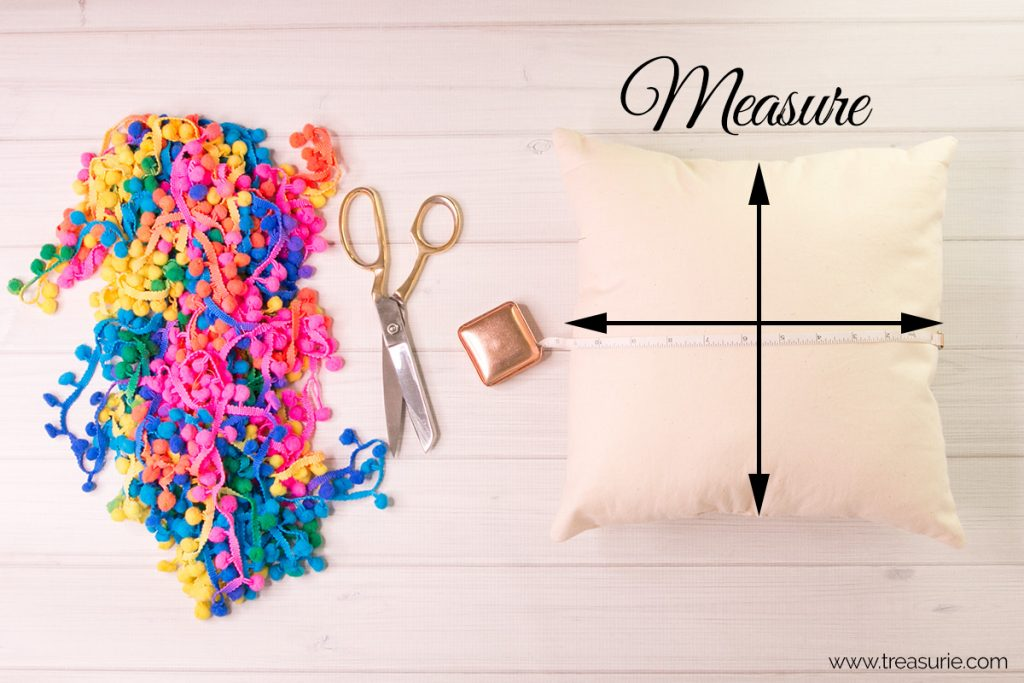 measure pillow