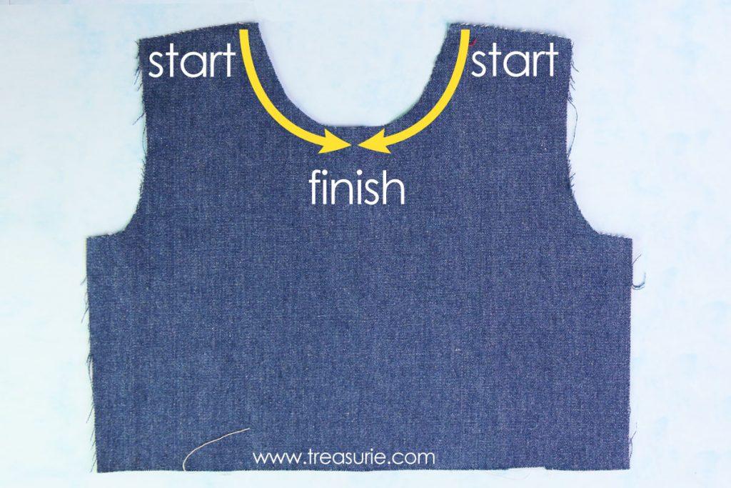 how to stay stitch