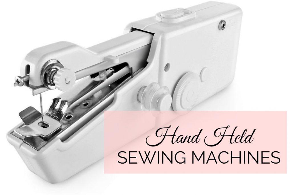 hand held sewing machine