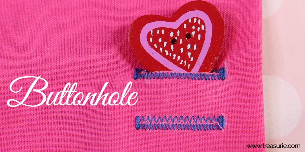 how to sew a buttonhole