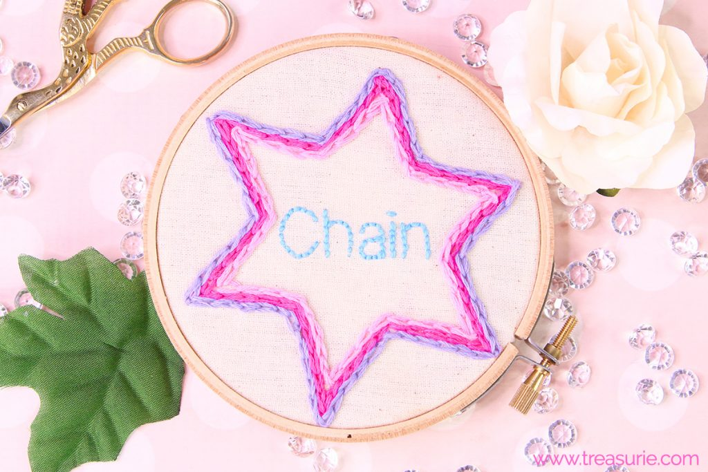 Chain Stitch Embroidery