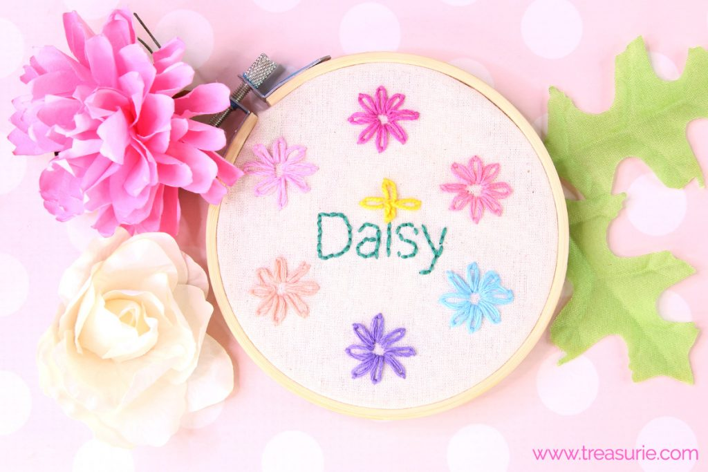 Lazy Daisy Stitch