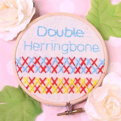 double herringbone stitch