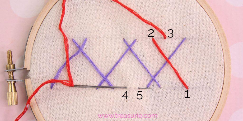 double herringbone step 3