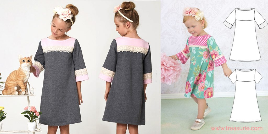 back to school stretch dress