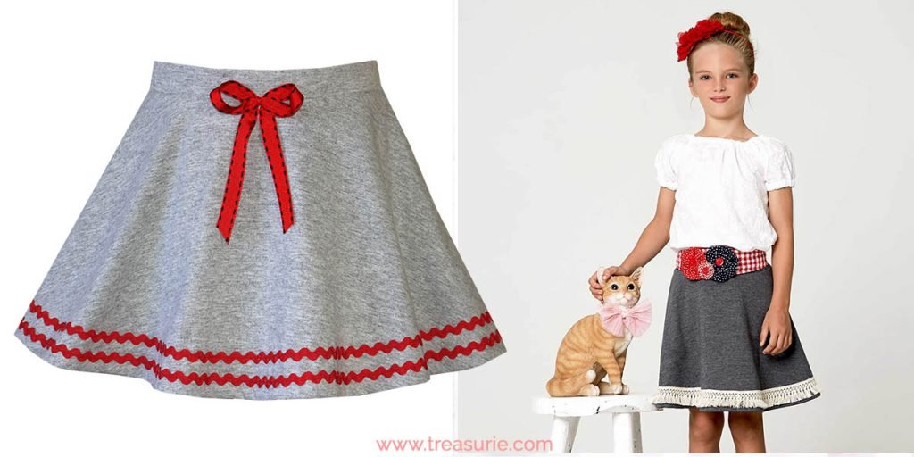 back to school skirt pattern
