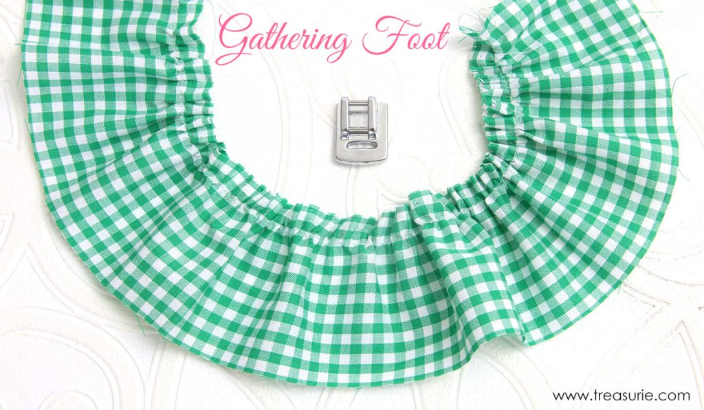 how to gather by hand