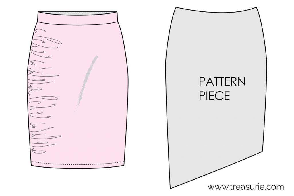 ruching pattern