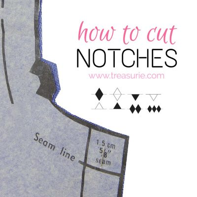 sewing notches