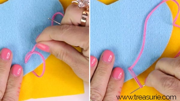 applique blanket stitch