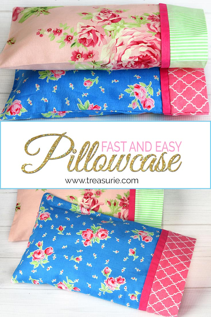 How To Make A Pillowcase Easy Pattern In 3 Sizes Treasurie