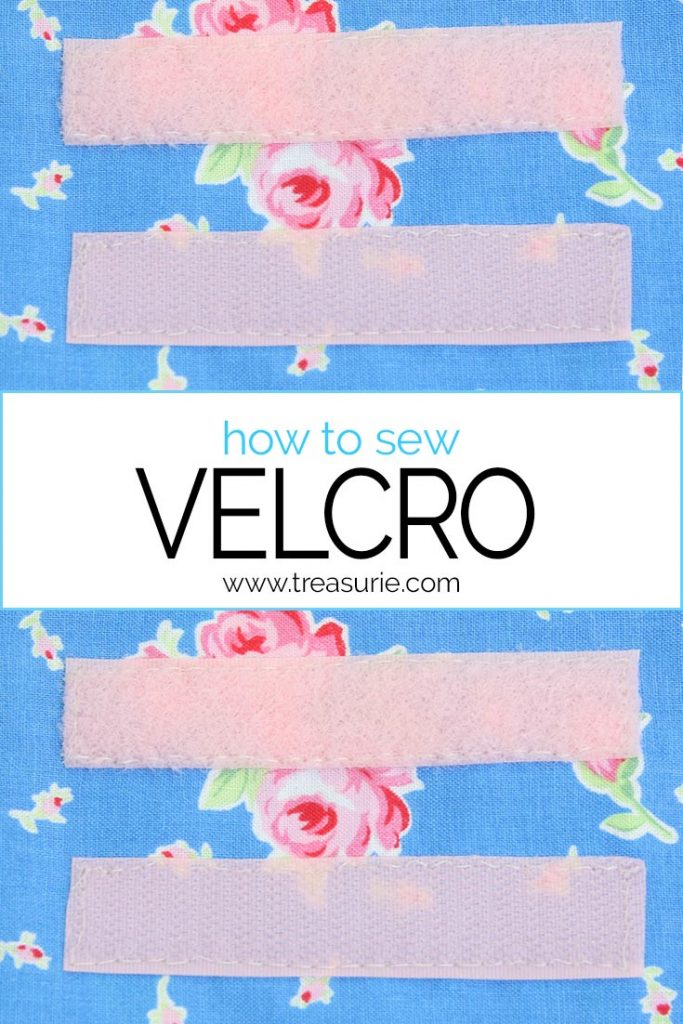 how to sew velcro, sewing velcro