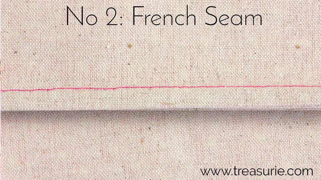 Learning to Sew French Seams