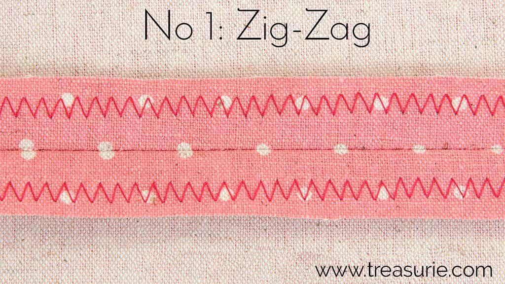 Zig Zag Stitch for Seam Finishing